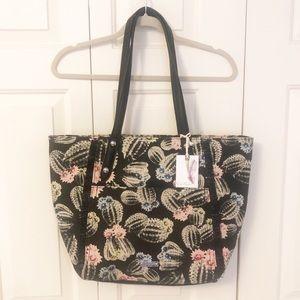 NWT Jessica Simpson Cactus Print Tote Bag